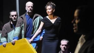 Rost tijdens de première van Haydns Orfeo ed Euridice in Boedapest (foto: Vera Édek).