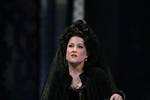 Diana Damrau tijdens een eerder optreden (2006, Die Entführung aus dem Serail - foto: Ken Howard/Metropolitan Opera).