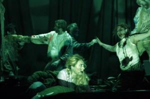 Scène uit de omstreden productie (foto: Klaus Lefebvre).