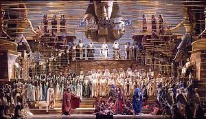 De Aida-productie van Zeffirelli in Milaan (foto: Teatro alla Scala).