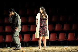 Yonghoon Lee als Don José en Nadia Krasteva als Carmen (foto: Monika Rittershaus).