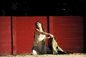 Nadia Krasteva als Carmen (foto: Monika Rittershaus).
