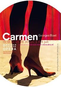 Affiche van de slotproductie van De Nederlandse Opera.