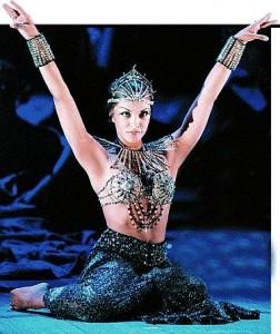 Danielle de Niese als Cleopatra.