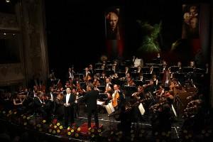 Tenor Jeong Won Lee en het Debrecen Philharmonic Orchestra waren uitstekend (foto: Miskolci Nemzetközi Operafesztivál).