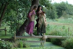 Scène uit Le Jugement de Midas van Grétry, de productie van Opera Nijetrijne uit 2006.