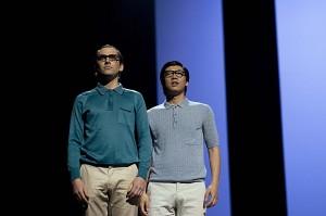 Een kostelijk duo: Elmar Gilbertsson (Ferrando) en Zhenhua Chang (Guglielmo).