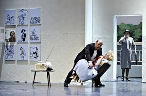 Scène uit de productie van Opera Zuid (foto: Opera Zuid).