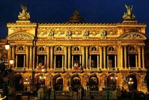Het Palais Garnier.