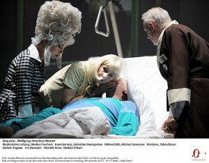 Scène uit het Requiem van Mozart (foto: Monika Rittershaus).