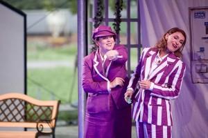 Francis van Broekhuizen (links) zong vorig jaar mee als Leporella in de Spanga-productie Donna Giovanna.
