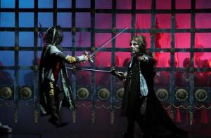 Scène uit Macbeth van Gharibpour.
