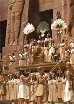 Filmposter van de Aida-productie.