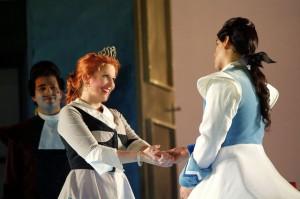 Joyce DiDonato en Juan Diego Flórez als sprookjespaar (foto: Teatre del Liceu).