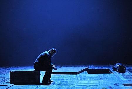 Scène uit Peter Grimes (foto: Hans Jörg Michel).
