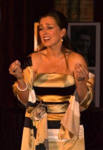 Mylou Mazali tijdens een eerdere Opera per Tutti (foto: Roos Westhoff).
