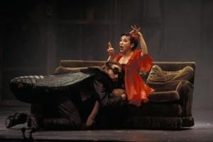 Dessay en Naouri (foto: Gérard Amsellem / Opéra National de Lyon).
