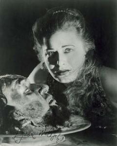 Ljuba Welitsch als Salome.