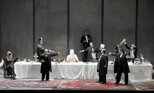 Scène uit de Salome-productie (foto: Monika Rittershaus).