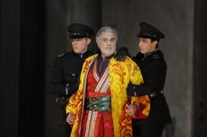 Domingo als Bajazet (foto: Robert Millard).