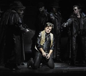Vanaf deze week zingt Zoran Todorovich de rol van Johnson in Amsterdam (foto: Clärchen & Matthias Baus).