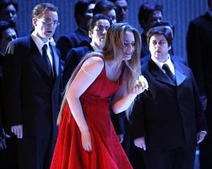 De optredens van Poplavskaya, hier in La Traviata, werden erg gewaardeerd (foto: Klaus Lefebvre).