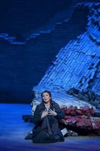 Barbara Frittoli ontroerde als Micaela (foto: Ken Howard / Metropolitan Opera).