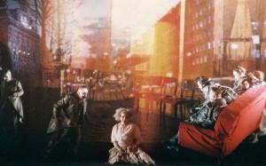 Scène uit de productie van Mussbach (foto: Ruth Walz).