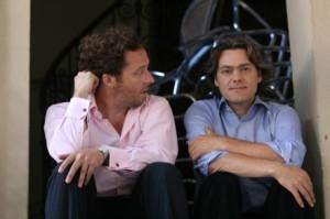 Gerhaher en Huber (foto: Alexander Basta for Sony BMG Classical).