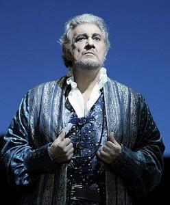 Plácido Domingo als Simon Boccanegra in de productie in Berlijn (foto: Monika Rittershaus / Staatsoper Unter den Linden).