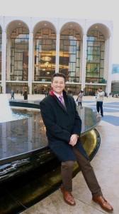 Piotr Beczala voor de Metropolitan Opera in New York.