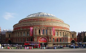De Royal Albert Hall in Londen.