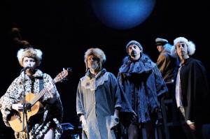 Scène uit Moby Dick - Het Concert (foto: Thomas Aurin).