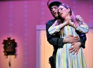Diana Mian danste en zong met veel plezier en vocaal gemak (foto: Patrick Pfeiffer).