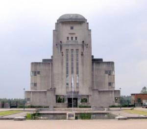 Het voormalig zenderpark Radio Kootwijk.