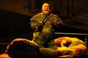 De volledige Ring-uitvoering bij De Nederlandse Opera is de grootste productie die komend seizoen op de agenda staat (foto: scène uit Siegfried / Ruth Walz).