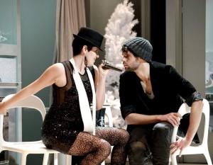 Anna-Maria Sarra als Musetta en Ben  Connor als Marcello. (foto: Armin Bardel)