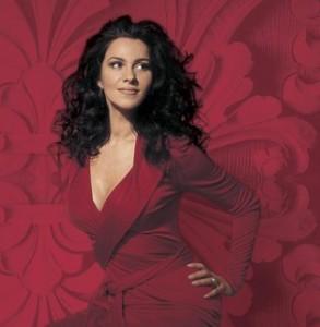 Gheorghiu in een fotoshoot voor EMI Classics.