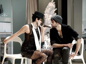 Scène uit Lotte de Beers Bohème-productie (foto: Armin Bardel / Theater an der Wien).