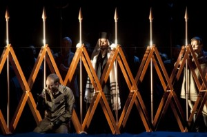 Scène uit Nabucco (foto: Bernd Uhlig).