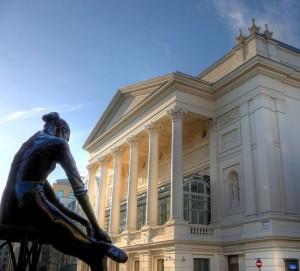 Het Royal Opera House in Londen ('Covent Garden') is één van de belangrijkste operahuizen ter wereld.