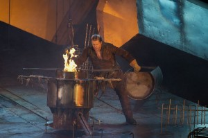 Stephen Gould als Siegfried (foto: Ruth Walz).