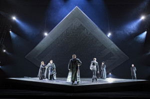 De cast van Tristan und Isolde Foto Marco Borggreve - ©Nationale Reisopera 2013