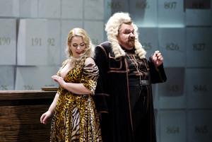 Scène uit Das Liebesverbot (foto: Oper Leipzig).