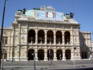 De Wiener Staatsoper.