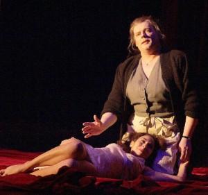 Marcel Beekman in L'Incoronazione di Poppea (foto: Rolf Bock).