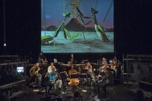Het Nederlands Blazers Ensemble (foto: Leo van Velzen).