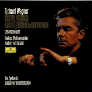 De studio-opname van Herbert von Karajan.