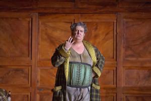Ambrogio Maestri als Falstaff (foto: Ken Howard / Metropolitan Opera).