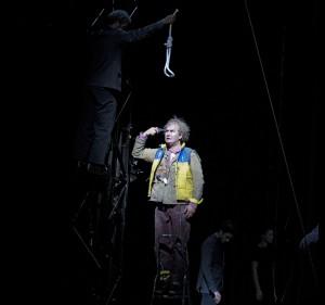 Thomas Oliemans in Die Zauberflöte (foto: Clärchen en Matthias Baus).